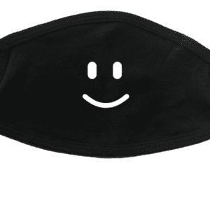 Masque avec bonhomme sourire