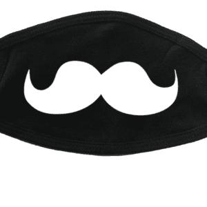 Masque avec moustache (pleine)