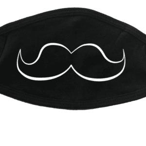 Masque avec moustache (vide)